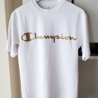 Champion - Champion Tシャツ ポリエステル100% sizeM 白