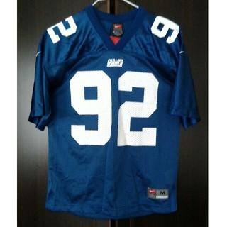 ナイキ(NIKE)のアメフト NY Giants ユニフォーム 92 Strahan NIKE(アメリカンフットボール)