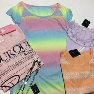 ラヴィジュール(Ravijour)のラヴィジュール/カールパークレーン/5点セット・まとめ売り(Tシャツ(半袖/袖なし))