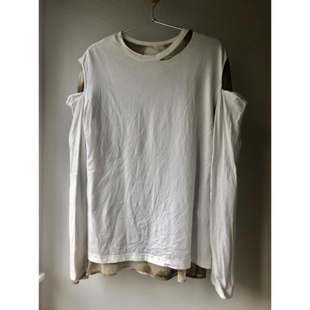 BEAUTY&YOUTH UNITED ARROWS(ビューティアンドユースユナイテッドアローズ)のPERVERZE タイダイロングTシャツ 20SS レディースのトップス(Tシャツ(長袖/七分))の商品写真