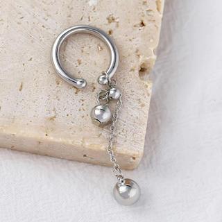 FREAK'S STORE - Ball chain silver earcuff No.414