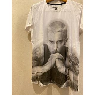 シュプリーム(Supreme)のエミネム eminem Tシャツ 白T hiphop dr dre(Tシャツ(半袖/袖なし))