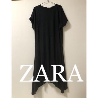 ZARA - ZARA アシンメトリー ワンピース