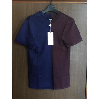マルタンマルジェラ(Maison Martin Margiela)のS新品 メゾン マルジェラ 再構築 Tシャツ 半袖 レディース アーティザナル(Tシャツ(半袖/袖なし))