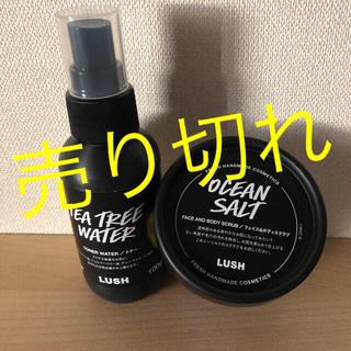 ラッシュ(LUSH)のLUSH ❣️OCEANSALT➕TEATREEWATERセット❣️(化粧水/ローション)