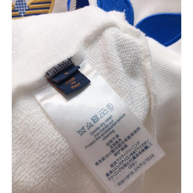 LOUIS VUITTON(ルイヴィトン)の【Louis Vuitton】ロゴ スウェット シャツS  男女兼用 レディースのトップス(トレーナー/スウェット)の商品写真