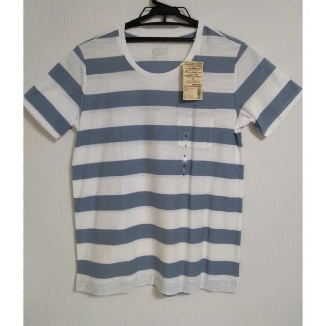 MUJI (無印良品)(ムジルシリョウヒン)の【お値下げ】無印良品 クルーネック半袖Tシャツ Sサイズ レディースのトップス(Tシャツ(半袖/袖なし))の商品写真