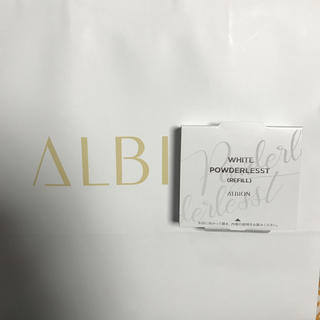 ALBION - ホワイト パウダレスト 040 レフィル 送料込み