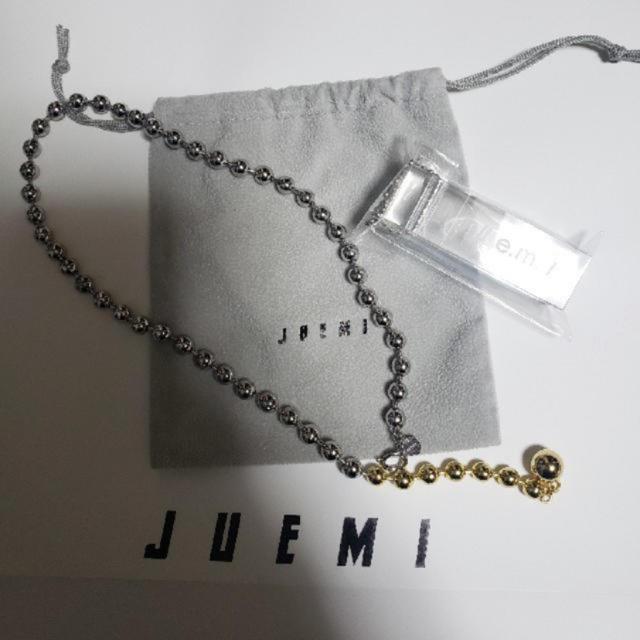 ALEXIA STAM(アリシアスタン)のjuemi ボールチェーンネックレス レディースのアクセサリー(ネックレス)の商品写真