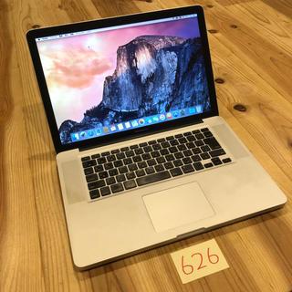 Mac (Apple) - 格安!MacBook pro 15インチ mid2009