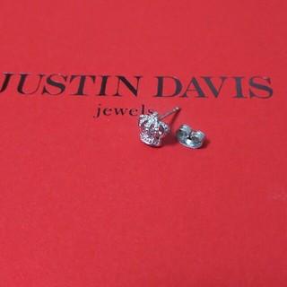ジャスティンデイビス(Justin Davis)のJUSTIN DAVIS クラウンピアス  片耳用 (ピアス(片耳用))