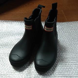 ハンター(HUNTER)のハンター 長靴 サイドゴア ブーツ 24cm(レインブーツ/長靴)
