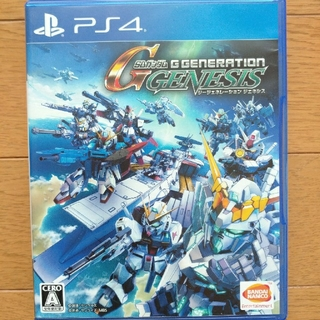 プレイステーション4(PlayStation4)のSDガンダム ジージェネレーション ジェネシス PS4(家庭用ゲームソフト)