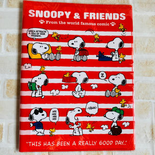 SNOOPY - スヌーピー クリアファイル 2+6ポケット A4