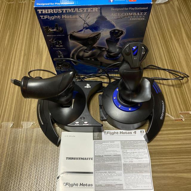 Thrustmaster T-Flight Hotas 4 エンタメ/ホビーのゲームソフト/ゲーム機本体(その他)の商品写真