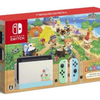 Nintendo Switch - あつまれどうぶつの森セット NINTENDO Switch 本体同梱版