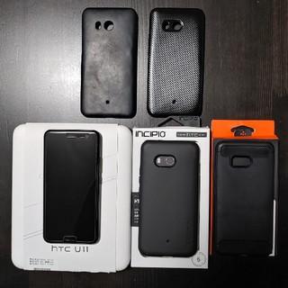 HTC - HTC U11 601HT simフリー化済み ブラック 楽天モバイル確認済み
