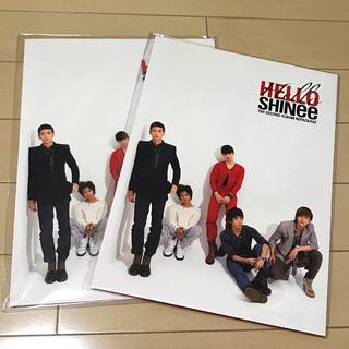 シャイニー(SHINee)のSHINee HELLO ペーパーファイル2枚セット(アイドルグッズ)