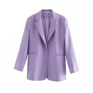 ZARA - 1934*S/S purple テーラードジャケット スーツ