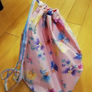 フェフェ(fafa)のfafa 巾着型バッグ(ショルダーバッグ)