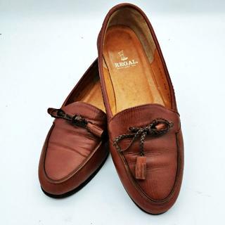 リーガル(REGAL)のREGAL レディース タッセル ローファー 2487 AD 22.5cm(ローファー/革靴)