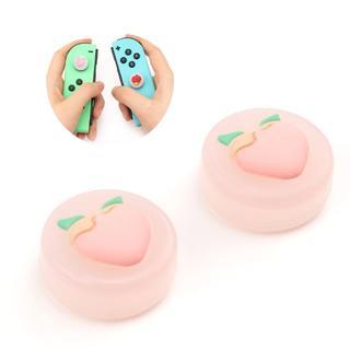 Switch スイッチ 任天堂 スティックカバー 果実 ジョイコン カバー