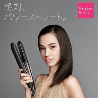 パナソニック(Panasonic)のパナソニック ナノケア ヘアアイロン EH-HS9A ホワイト(ヘアアイロン)