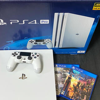 PlayStation4 - PlayStation4 Pro 本体 CUH-7100BB02 ソフトセット