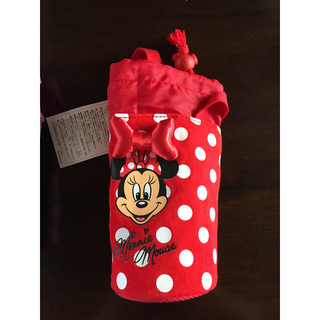 Disney - ディズニーリゾート限定 ミニーマウス ペットボトルホルダー 新品未使用
