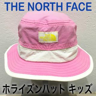 ザノースフェイス(THE NORTH FACE)のノースフェイス 帽子 ホライズンハット キッズ free(帽子)