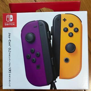 Nintendo Switch - ジョイコン (L)ネオンパープル/(R)ネオンオレンジ