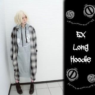 NieR ニーア EX LONG HOODIE(裏起毛)