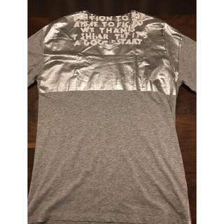 マルタンマルジェラ(Maison Martin Margiela)のマルタンマルジェラ:グレー色チャリティーエイズ Tシャツ(Tシャツ(半袖/袖なし))