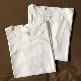 GU - レディース白Tシャツ2枚セット GU