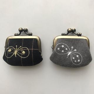 ミナペルホネン(mina perhonen)のいちごさくらんぼ1961様(コインケース)