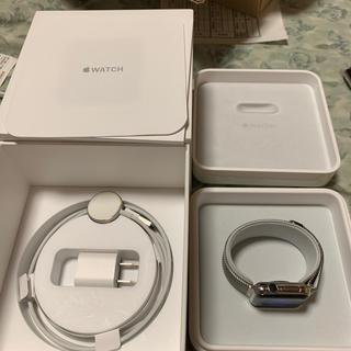 アップルウォッチ(Apple Watch)のApple Watch Series 2 38mm ステンレススチール 良品 (腕時計(デジタル))