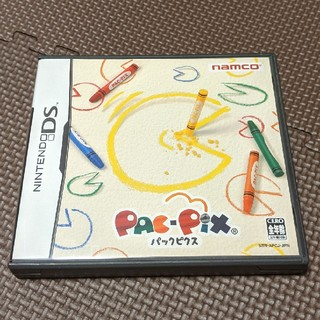 ニンテンドーDS(ニンテンドーDS)のパックピクス DS(携帯用ゲームソフト)