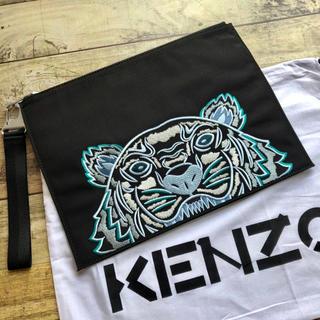 ケンゾー(KENZO)の新品 KENZO ケンゾー タイガー刺繍 クラッチバッグ 新作(セカンドバッグ/クラッチバッグ)