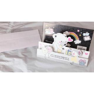 メッセージカード 立体カード メッセージ プレゼント(カード/レター/ラッピング)