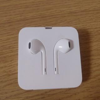 アイフォーン(iPhone)のiPhone XR  付属のイヤホン(ヘッドフォン/イヤフォン)