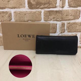 LOEWE - ロエベ  財布 ブラック