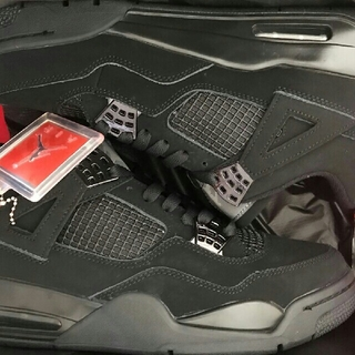 NIKE - AIR JORDAN4 BLACK CAT 27cm aj4