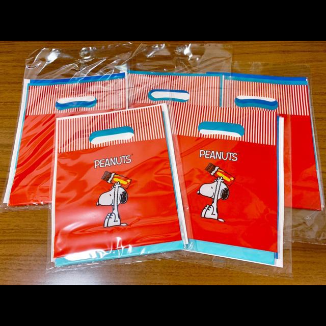 SNOOPY(スヌーピー)のGhana ガーナ オリジナルギフトバッグ 15枚セット エンタメ/ホビーのおもちゃ/ぬいぐるみ(キャラクターグッズ)の商品写真