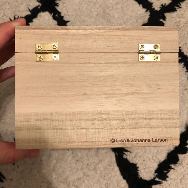 Lisa Larson(リサラーソン)のリサラーソン  木箱 インテリア/住まい/日用品のインテリア小物(置物)の商品写真