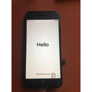 Apple - iphone7 純正フロントパネル 黒 LCD 画面【純正再生品 】