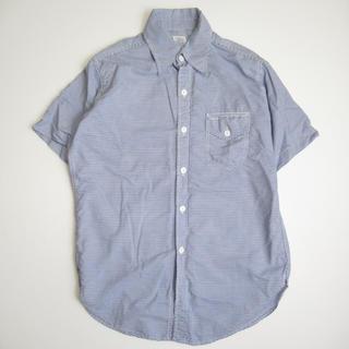 ポストオーバーオールズ(POST OVERALLS)のPOST O'ALLS ポストオーバーオールズ 半袖シャツ USA製 M(シャツ)