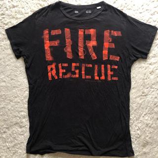 ディーゼル(DIESEL)のTシャツ、ブラック(Tシャツ/カットソー(半袖/袖なし))
