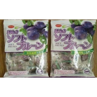 ドライフルーツ 種ぬきソフトプルーン 2個セット