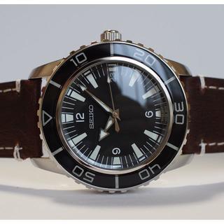 セイコー(SEIKO)の【特価プレゼント付】セイコー5 SNZH55 ロゴ付SeaM カスタム mod(腕時計(アナログ))