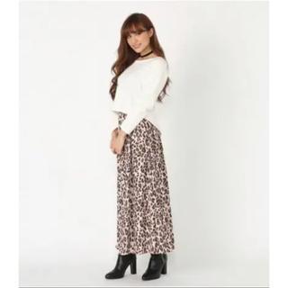 rienda - お値下げ♡ レオパードロングスカート